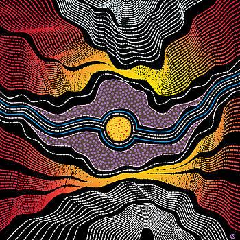 Modern Aboriginal 2 by Gary Grayson