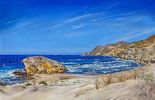 Monsul Beach by Margaret Merry