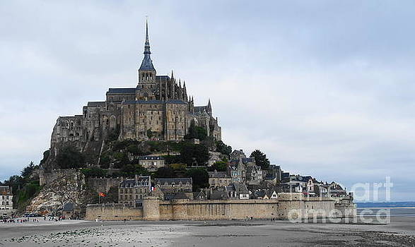Mont St Michel by Therese Alcorn