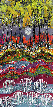 Moonlight Over Spring by Carol Law Conklin