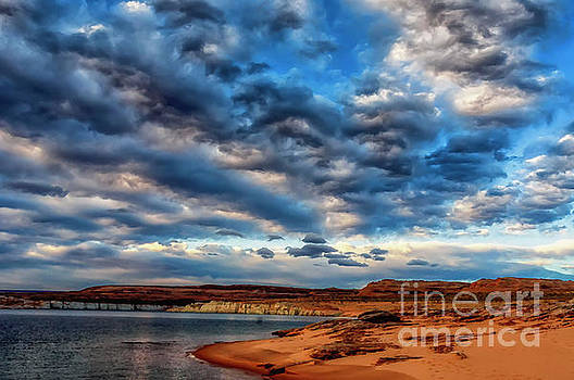 Morning Couds Lake Powell by Thomas R Fletcher