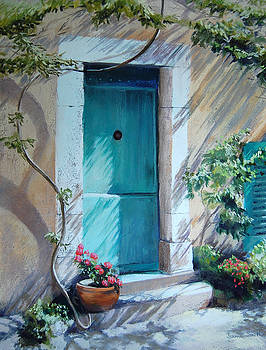 Morning Light in Valbonne by Jeanne Rosier Smith