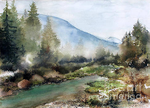 Morning Mist by Monte Toon