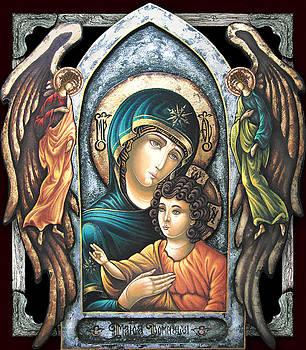 Mother of God by Iosif Ioan Chezan