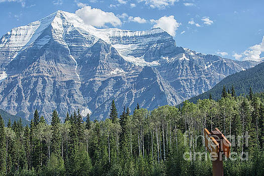 Mount Robson by Patricia Hofmeester
