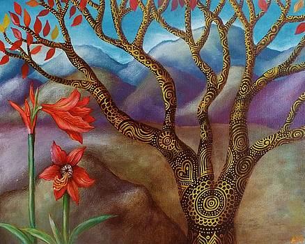 Mountain Lilies by Alice Mason