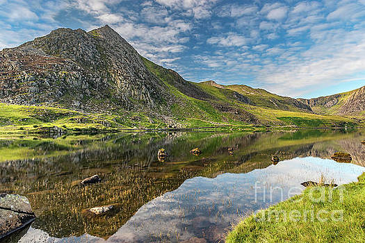 Mountain Reflections by Adrian Evans
