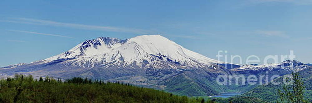 Mt. St. Helens and Castle Lake by Ansel Price