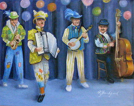 Mummers Quartet by Oz Freedgood