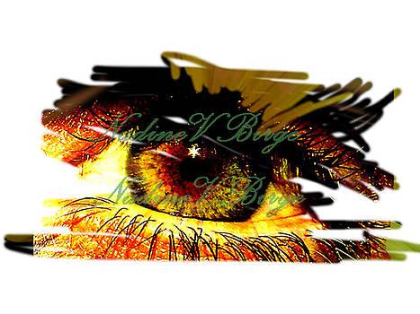 My eye seeks you by Nadine Birge