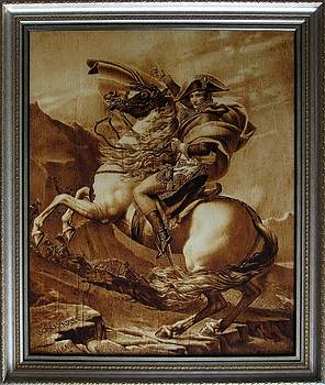 Napoleon Crossing the Alps by Dino Muradian