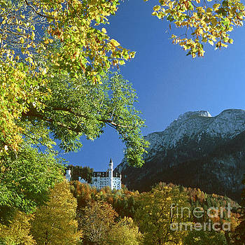 Neuschwanstein Castle Bavaria in autumn 5 by Rudi Prott