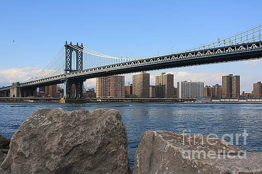 New York's Manhattan Bridge by Photographic Art and Design by Dora Sofia Caputo