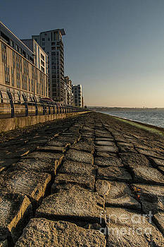 Newhaven Flats Sunset by Keith Thorburn LRPS