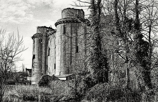 Nunney Castle by Ron Harpham