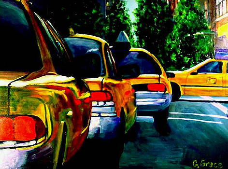 NYC Taxicabs by George Grace