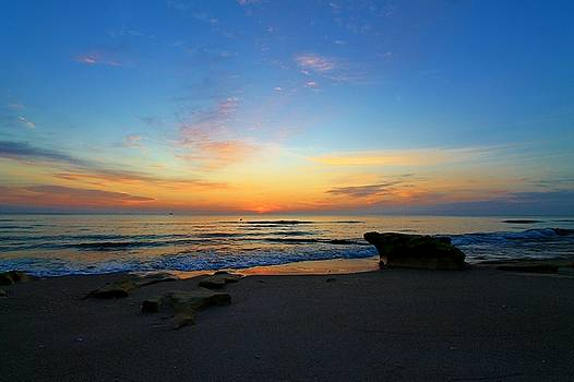 Ocean Sunrise by Catie Canetti