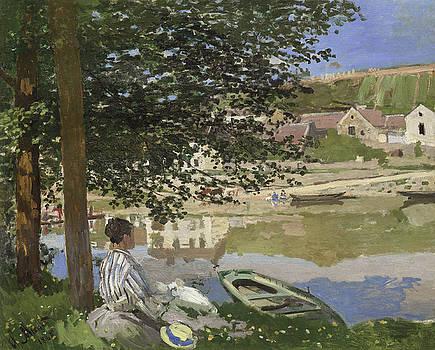 Claude Monet - On the Bank of the Seine, Bennecourt