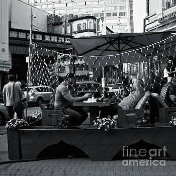 Outdoor cafe by Magomed Magomedagaev