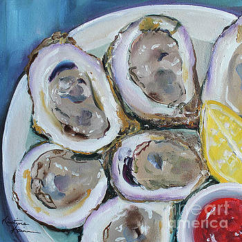Oysters on the Half Shell by Kristine Kainer