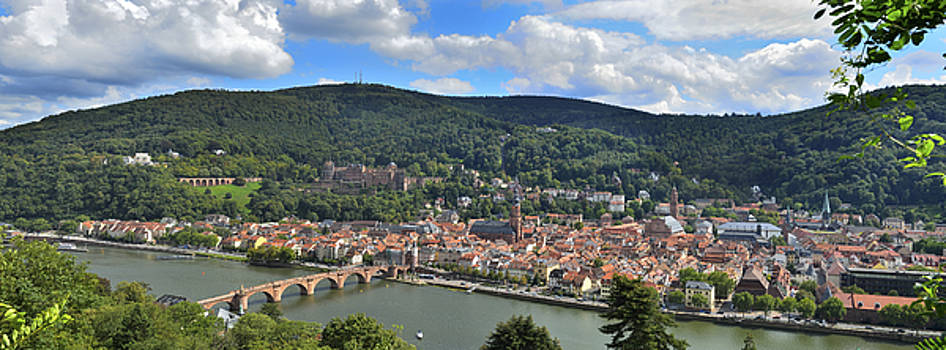 Panorama Heidelberg by Travel Images Worldwide