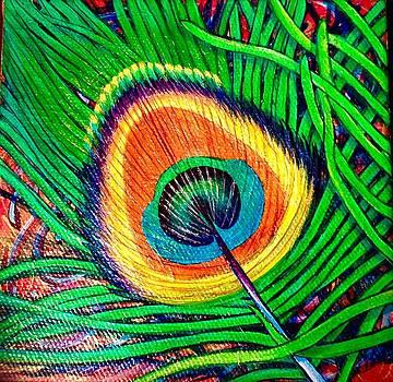 Peacock Eye Trio by Lisa Rodriguez