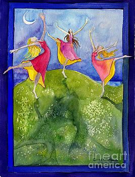 Pink Girls Dance by Cori Caputo