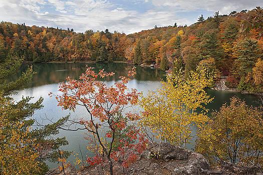 Pink Lake by Eunice Gibb