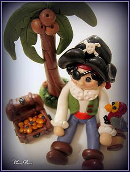 Pirate Scene by Trina Prenzi