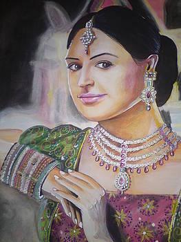 Pooja Bose by Sandeep Kumar Sahota