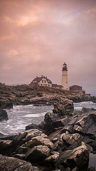 Portland Headlight by Chad Tracy