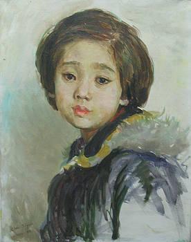 Portrait  by Ji-qun Chen