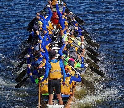 Preparing for the 2016 Dragon Boat Festival by Yali Shi