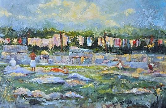 Public Laundry Mumbai by Ginger Concepcion