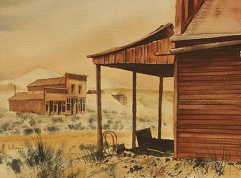 Rawhide Ghost Town Nevada by Kevin Heaney