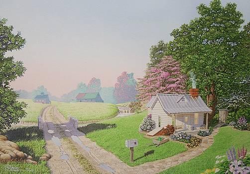 Rebeccas Cottage by C Robert Follett