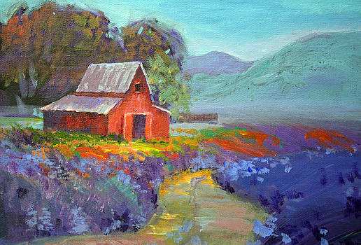 Red Barn by Benjamin Johnson