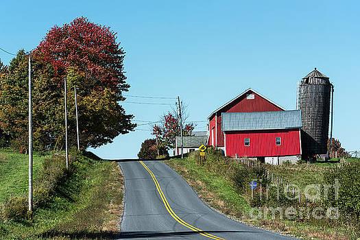 Red Barn  by John Greim