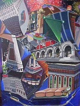 Reflecting on a City by Bobbi Baltzer-Jacobo