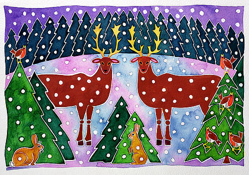 Cathy Baxter - Reindeer and Rabbits
