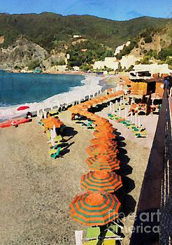 Monterosso al Mare  Italy by Jacklyn Duryea Fraizer
