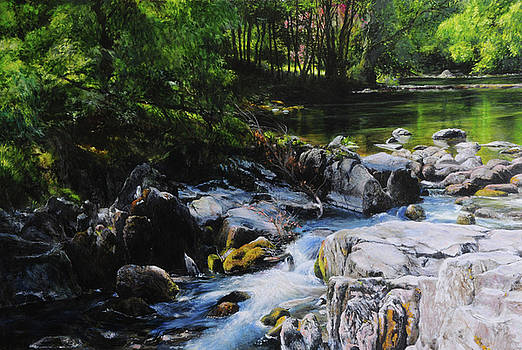 Harry Robertson - River in Wales