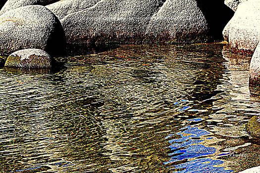 Rocks And Ripples by Lynn Bawden