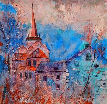 Romanesque church by Pol Ledent