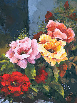 Roses by Elisabeta Hermann