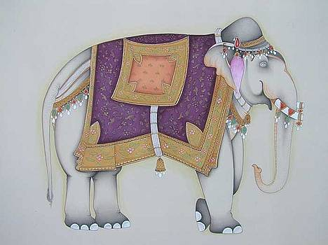 Royal elephant by Unknown
