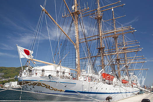 Sail Training Ship NIPPON MARU by Aiolos Greek Collections