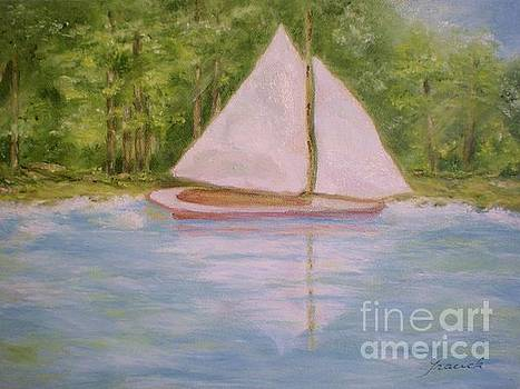 Sailboat by Graciela Castro