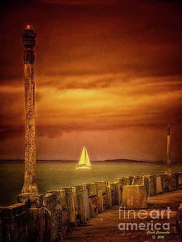 Sailing  ... by Chuck Caramella