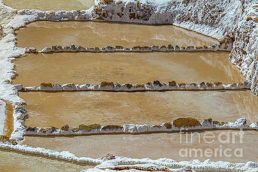 Salt mines in Peru by Patricia Hofmeester